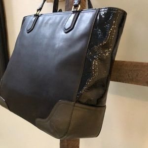 Coach Poppy Blaire Leather Tote Bag